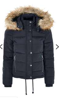 Topshop Petite Quilted Puffer Jacket