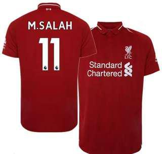 Top Quality [BNIB] Liverpool 18/19 Jersey - Mohammad Salah No. 11🔥