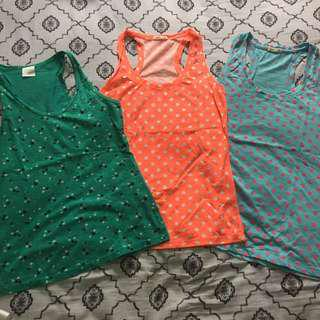 Colorful Patterned Tank Top Bundle