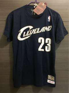 Mitchell & Ness Hardwood Classic 經典 新秀 LeBron James T-Shirt Tee NBA