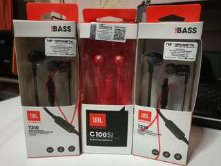 Jbl cable Earphones