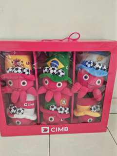 Limited Edition Octo Football Plushies