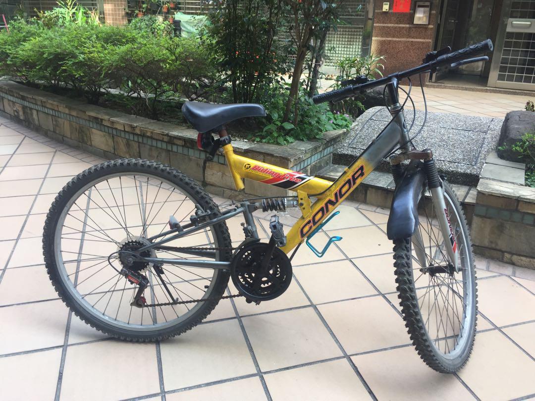 隨便賣了啦~二手腳踏車(輪胎須自行修理)