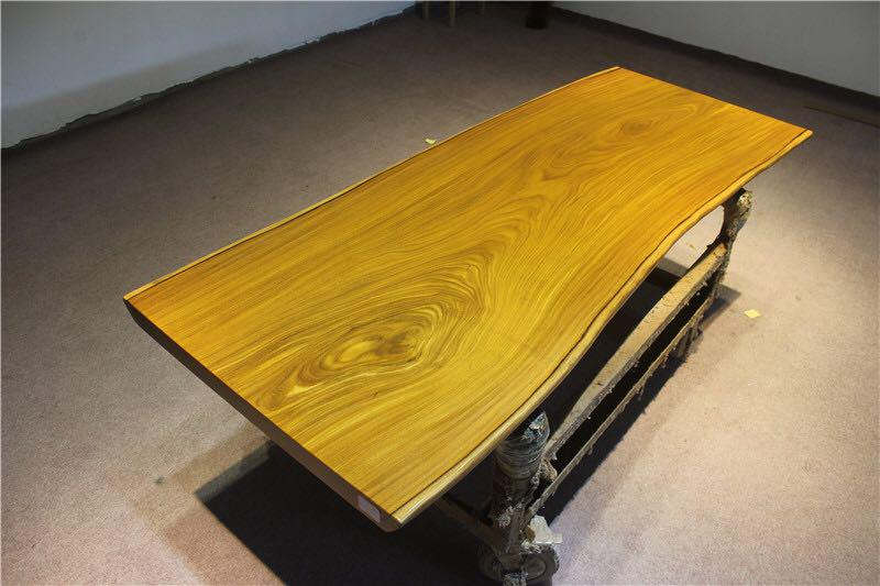 afrormosia wood slab for table top length 206cm