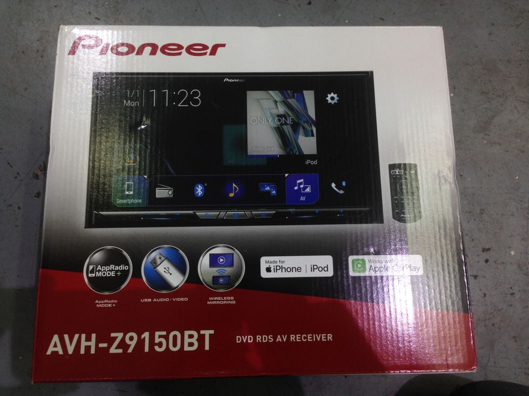 All New Pioneer Avh Z9150bt Free Reverse Camera Install Car Backup Wiring Installation Accessories On Carousell