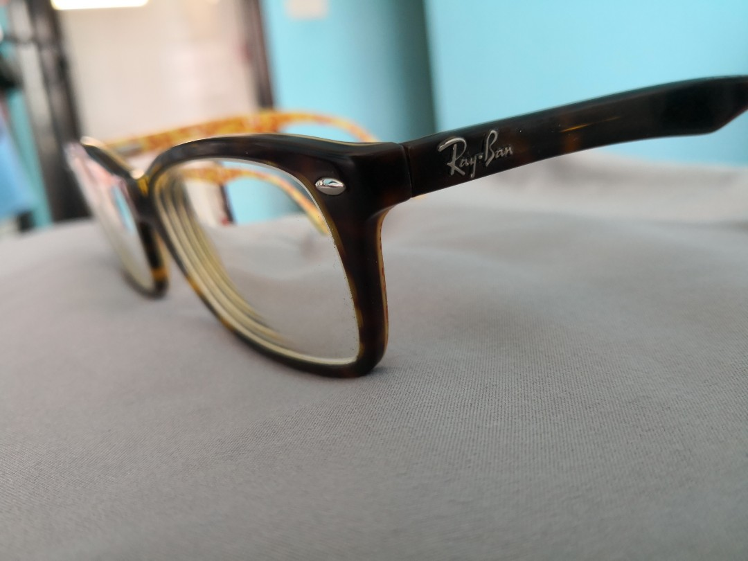 2130b0784 Authentic Preloved Rayban Tortoise Shell Spectacles, Women's Fashion ...
