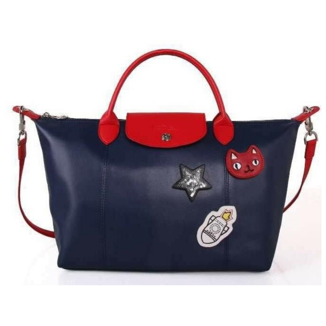 15294cb6c Authentic Quality Longchamp Neo with Patches Tote Bag Shoulder Bag ...