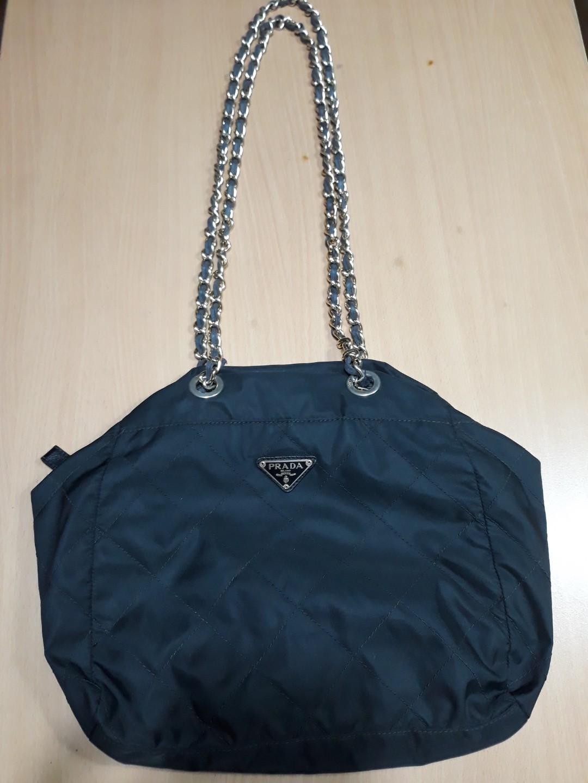 51c53d8724 Authentic Vintage Prada chain bag