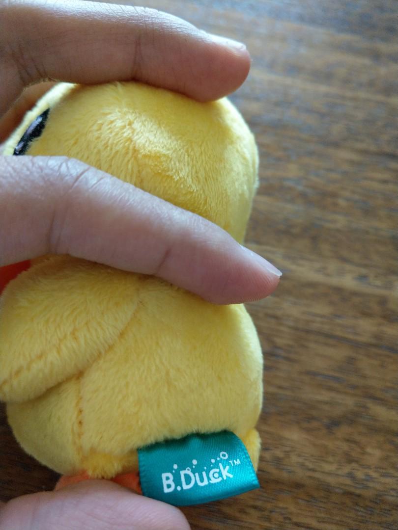 B duck毛絨公仔匙扣