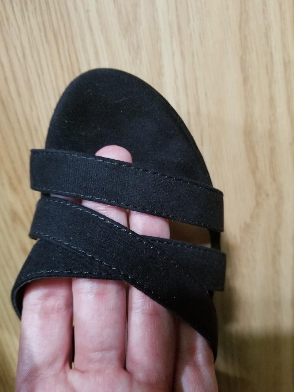 Beautiful Platform Velour Boho High Heel Sandals*