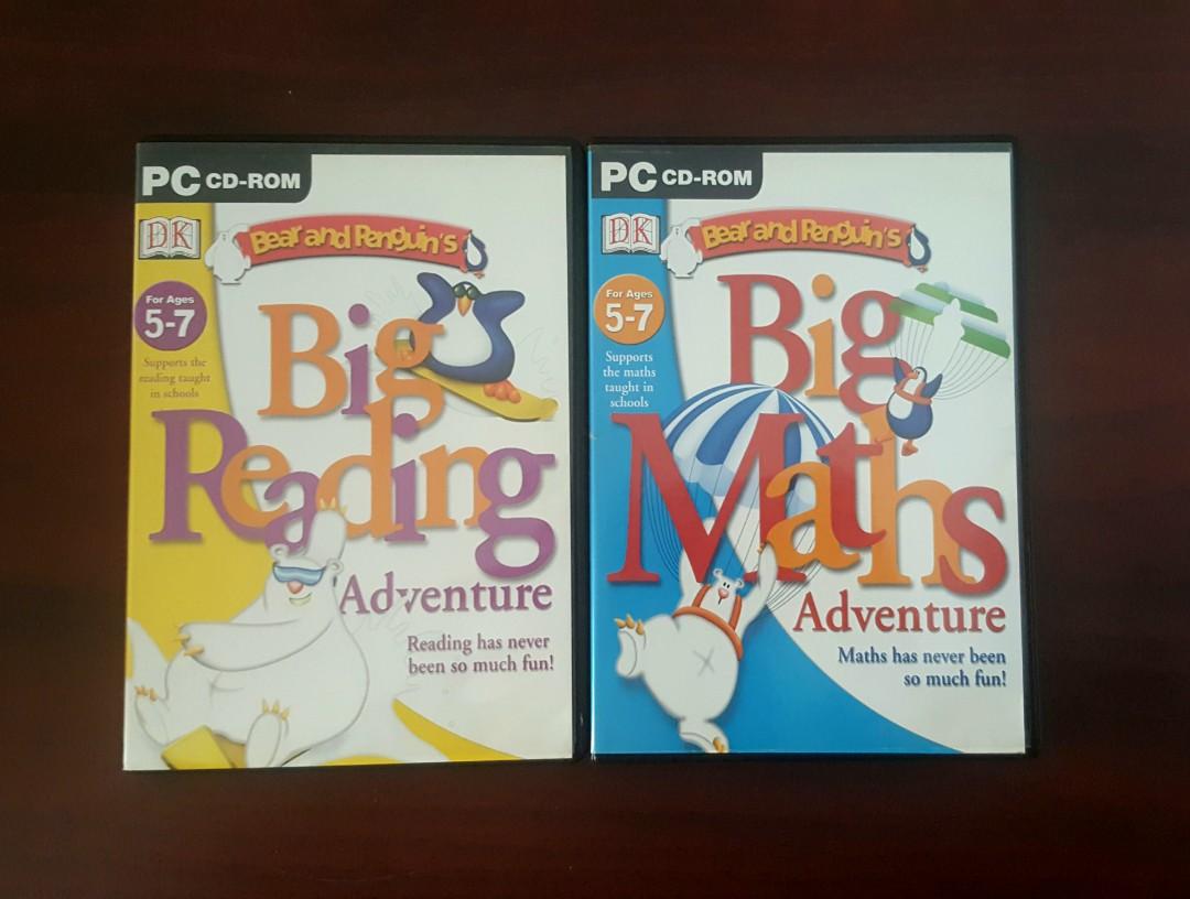 Big Adventure Educational PC/MAC CD-ROMS