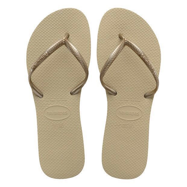 2ddc1a63780a Brand New Havaianas Short Strap in Rose Gold   37-38