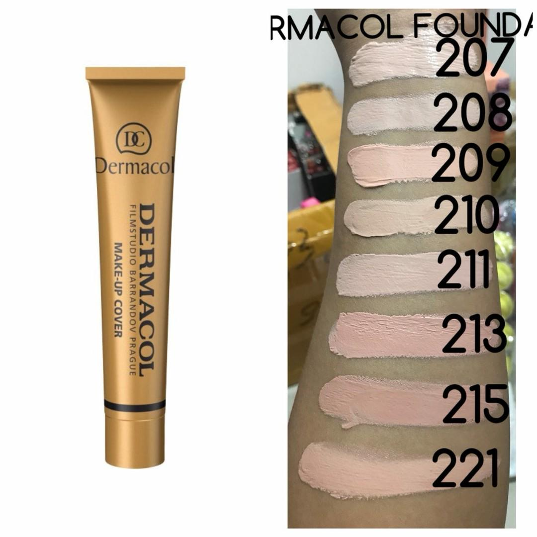 Dermacol Foundation Health Beauty Makeup On Carousell