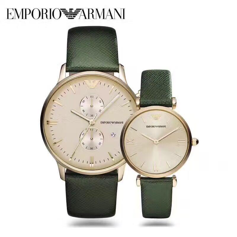 795f5fc6e3c Emporio Armani couple Watch 100%authentic original