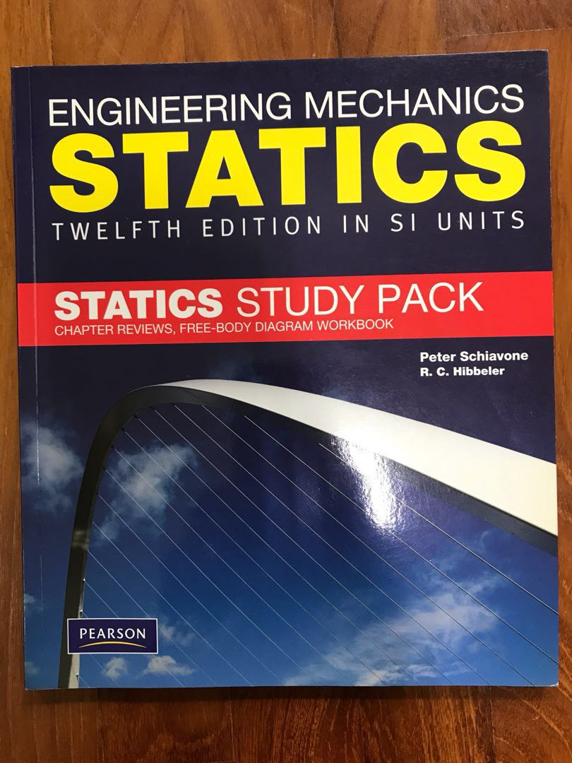 Engineering Mechanics Statics Study Pack Books Stationery Home Images Free Body Diagram Textbooks Tertiary On Carousell