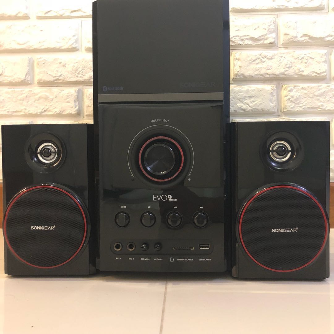 Evo 9 Btmi Bt Speaker Electronics Audio On Carousell Logitech Multimedia Z213 Original