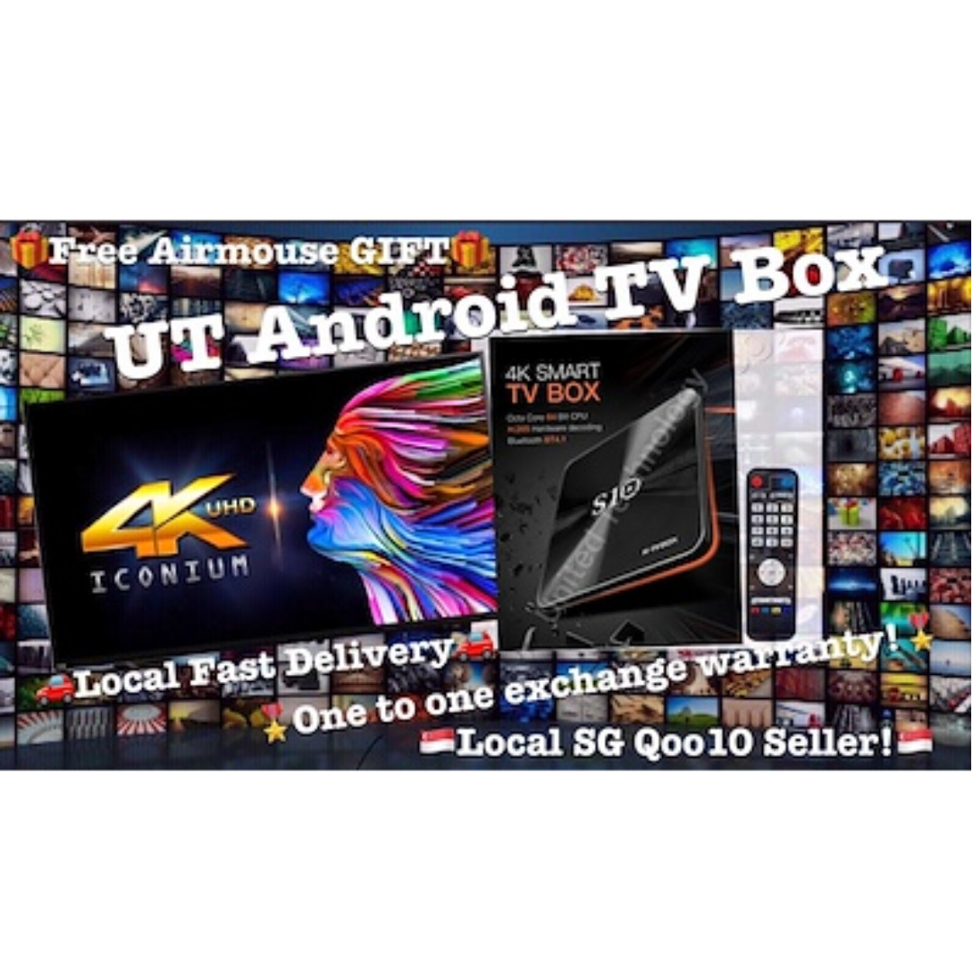 ♛FREE AIRMOUSE+FREE SHIPPING★Aston T95/I10/S10 Plus (3G Ram/64G Storage)  All in One TV BOX!!!