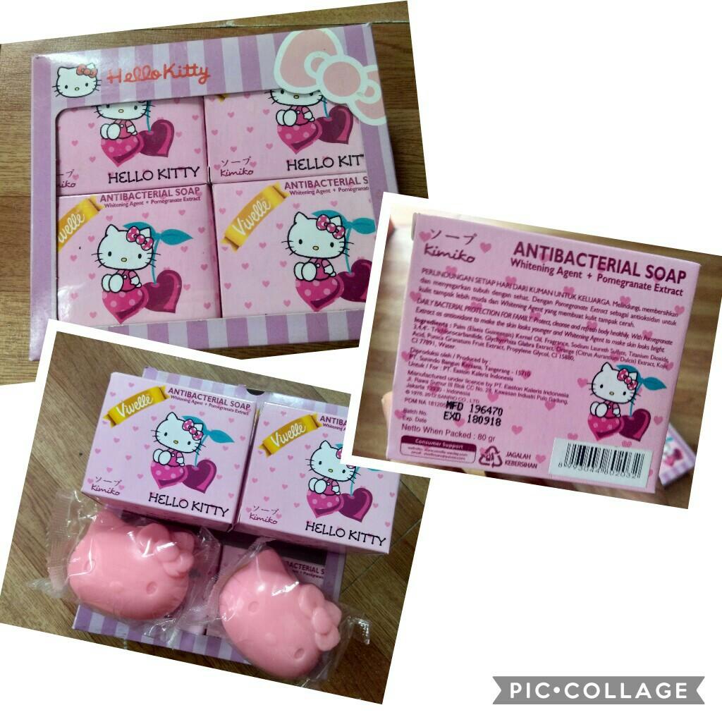 Hello Kitty Skin Care Set Health Beauty Skin Bath Body On