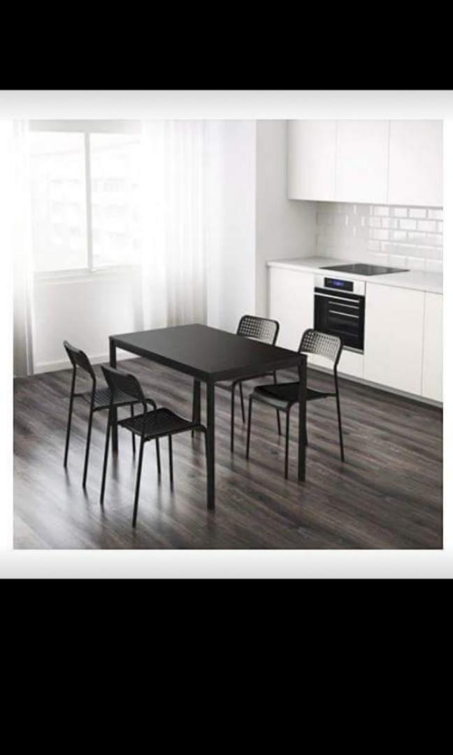 IKEA TÄRENDÖ table desk in black