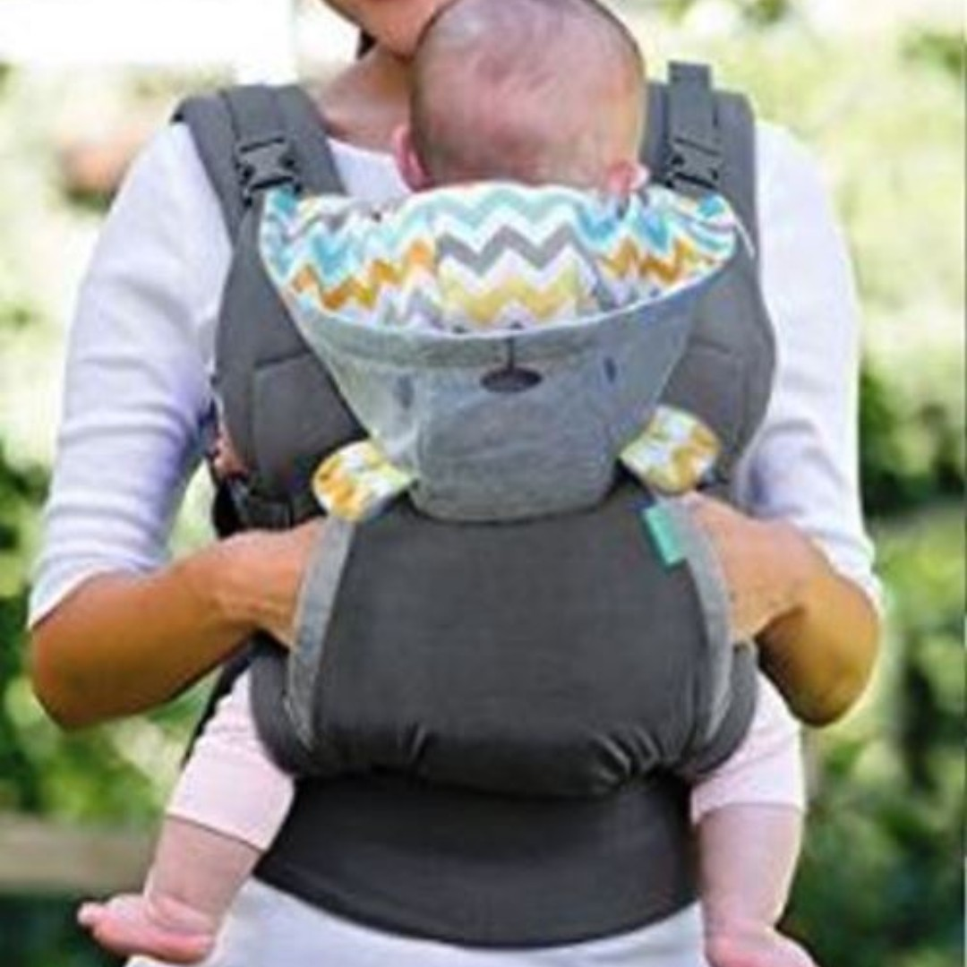 1c0a14e2ac6 Infantino Cuddle Up Ergonomic Hoodie Baby Carrier
