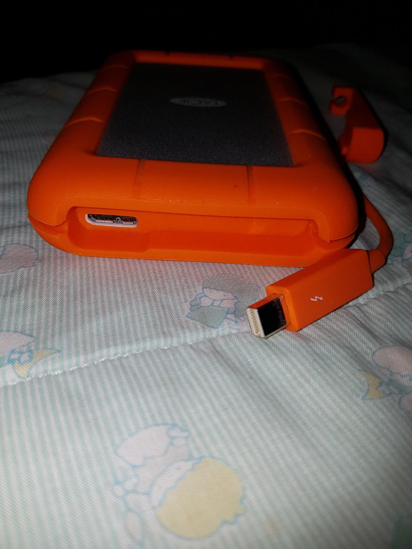 Lacie 1TB thunderbolt and USB 3.0 storage