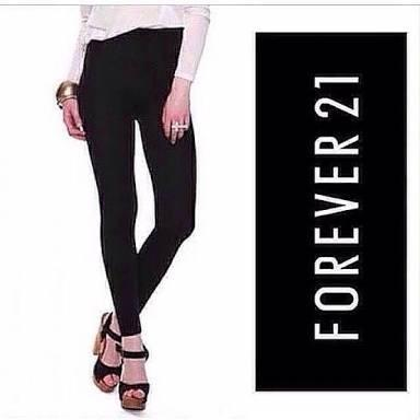 Legging Forever 21 Women S Fashion Women S Clothes On Carousell