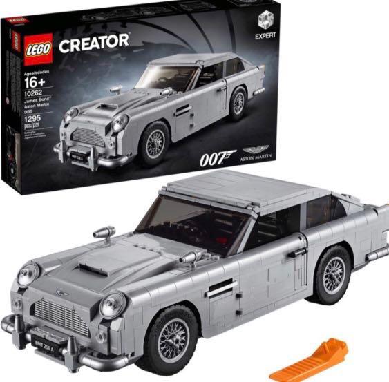 lego creator james bond aston martin db5 10262 toys. Black Bedroom Furniture Sets. Home Design Ideas