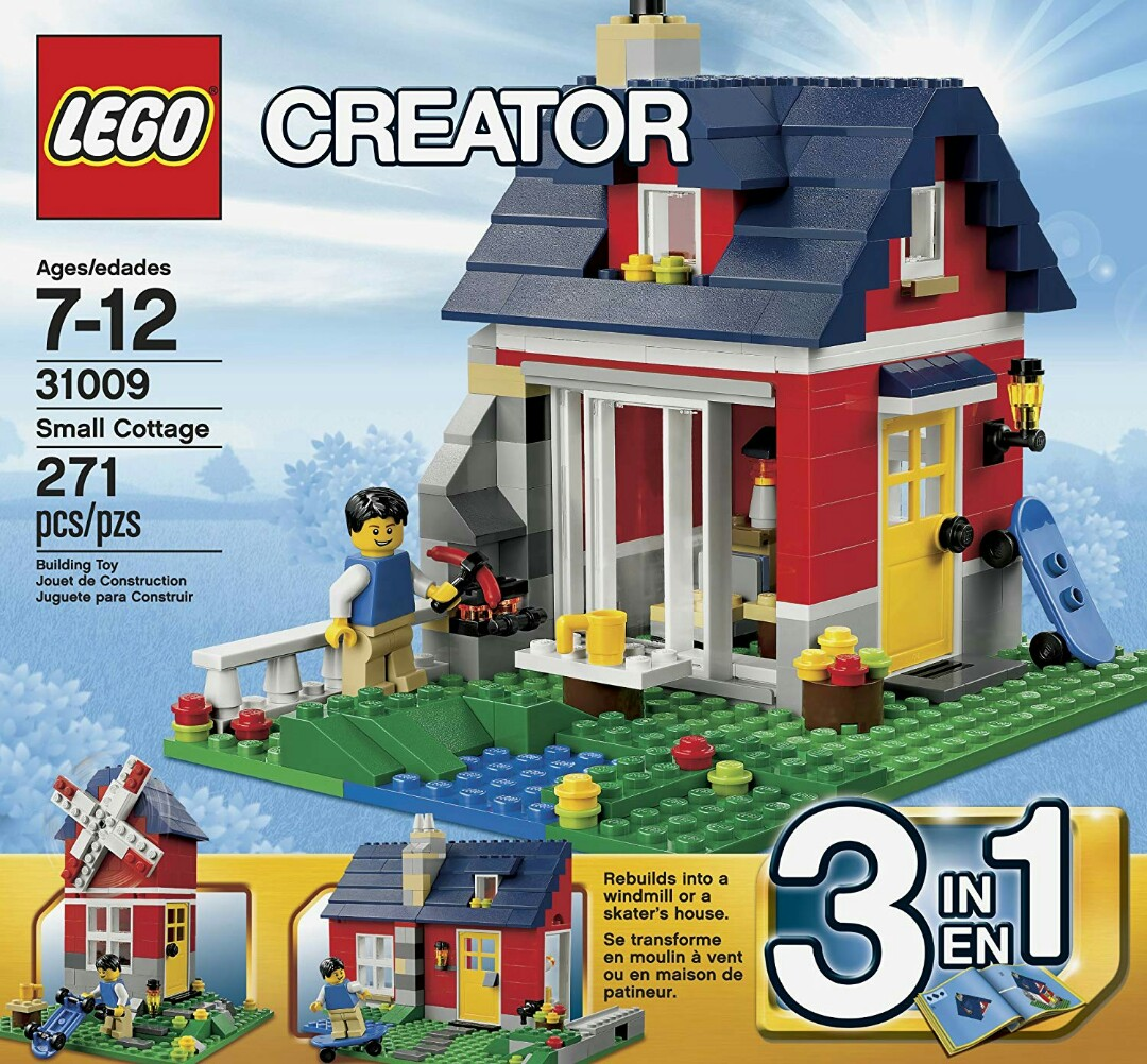 Lego Creator Small Cottage 31009 Toys Games Bricks Figurines