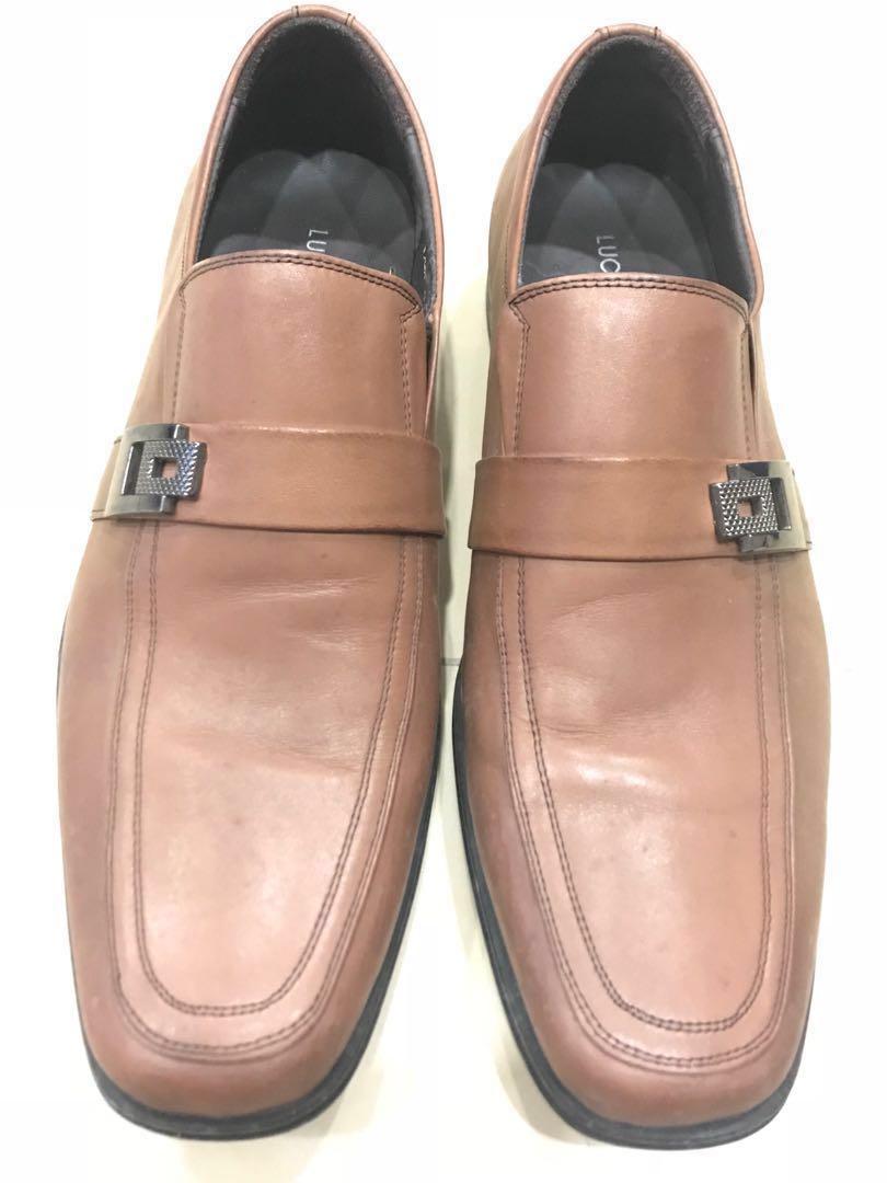 Brown Light dress shoes