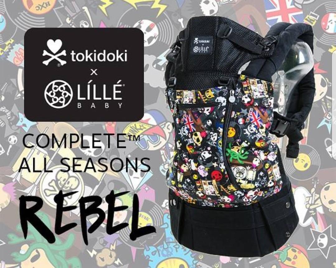 c9371e7237d Lille Baby Tokidoki Rebel Carrier