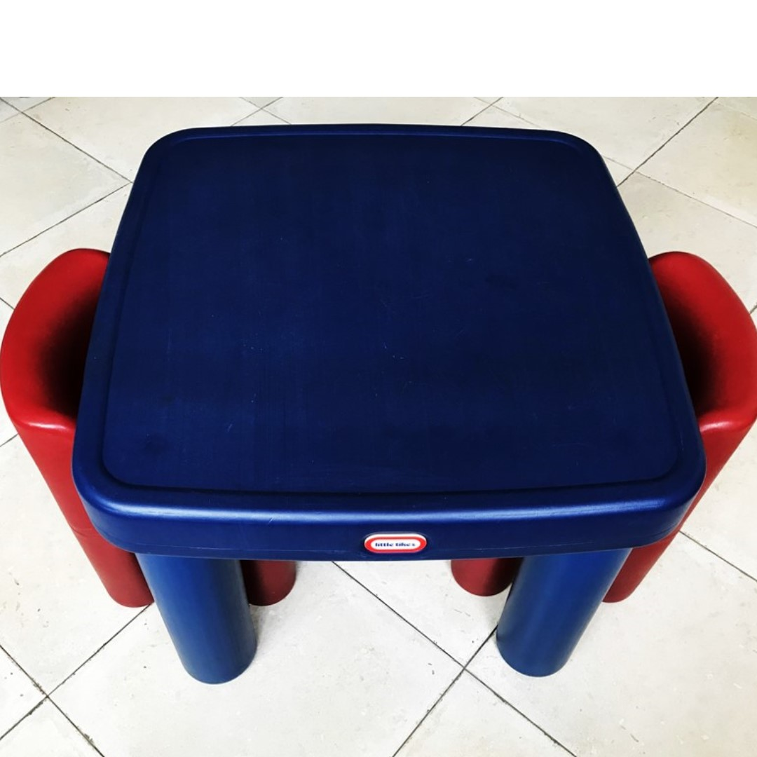 Little Tikes Large Table Chairs With Drawers Furniture Tables