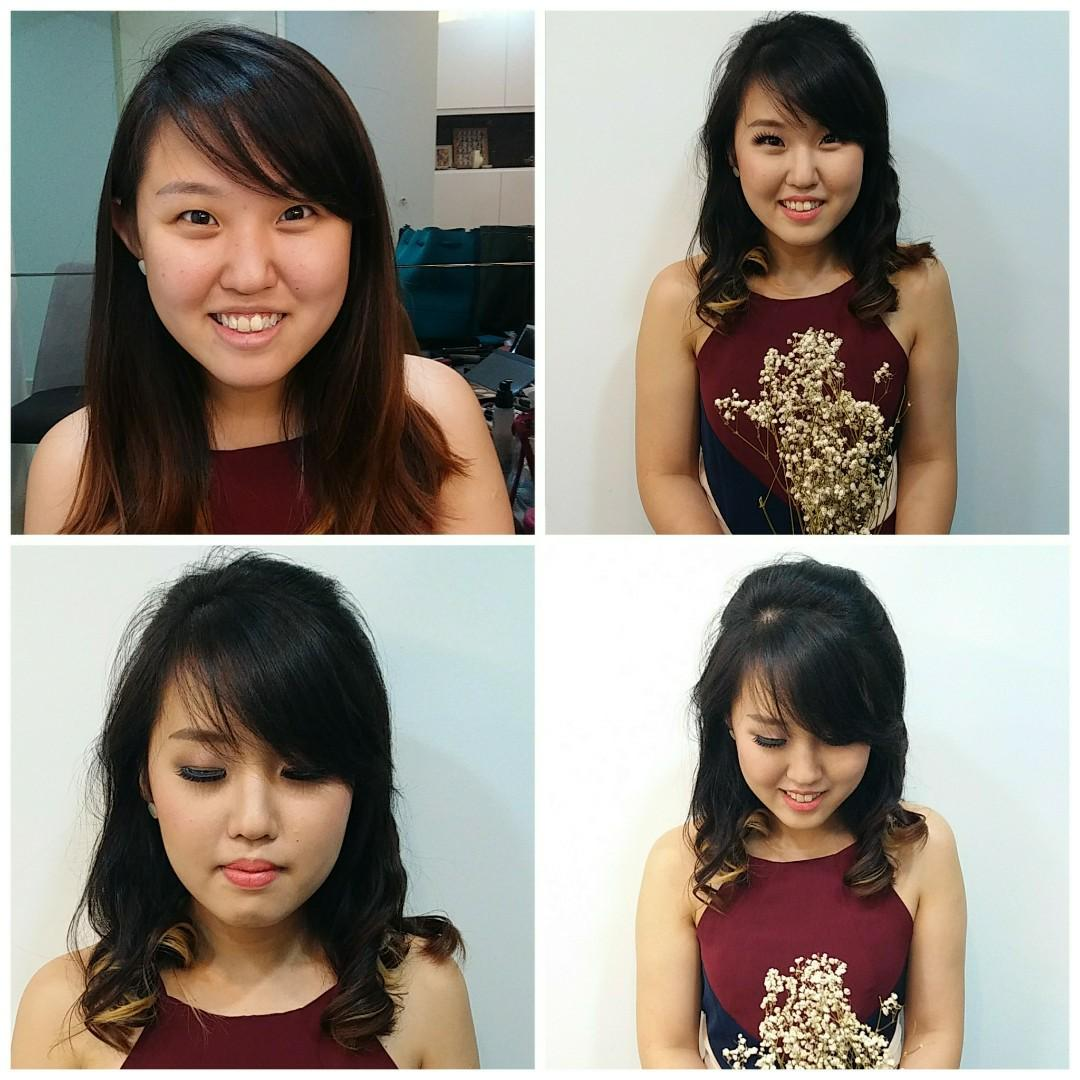 Make Up Artist (makeup with hairdo)