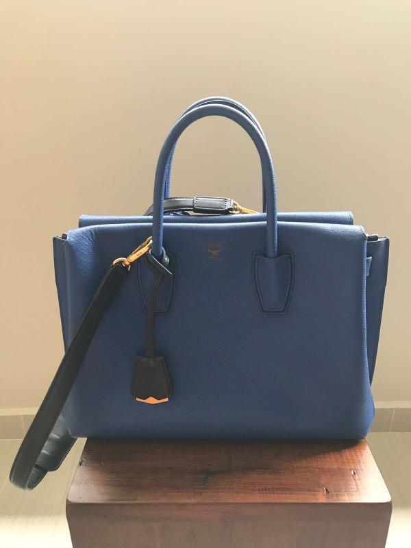 06cbbb4b0 MCM Medium Milla Tote, Luxury, Bags & Wallets, Handbags on Carousell