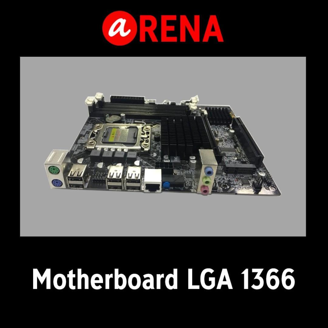 Motherboard X58 LGA 1366, Electronics, Computer Parts