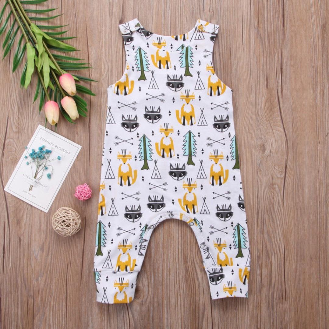 d3bc1a530 Newborn Baby Boy Girl Clothes Bodysuit Infant Romper Jumpsuit Outfit ...