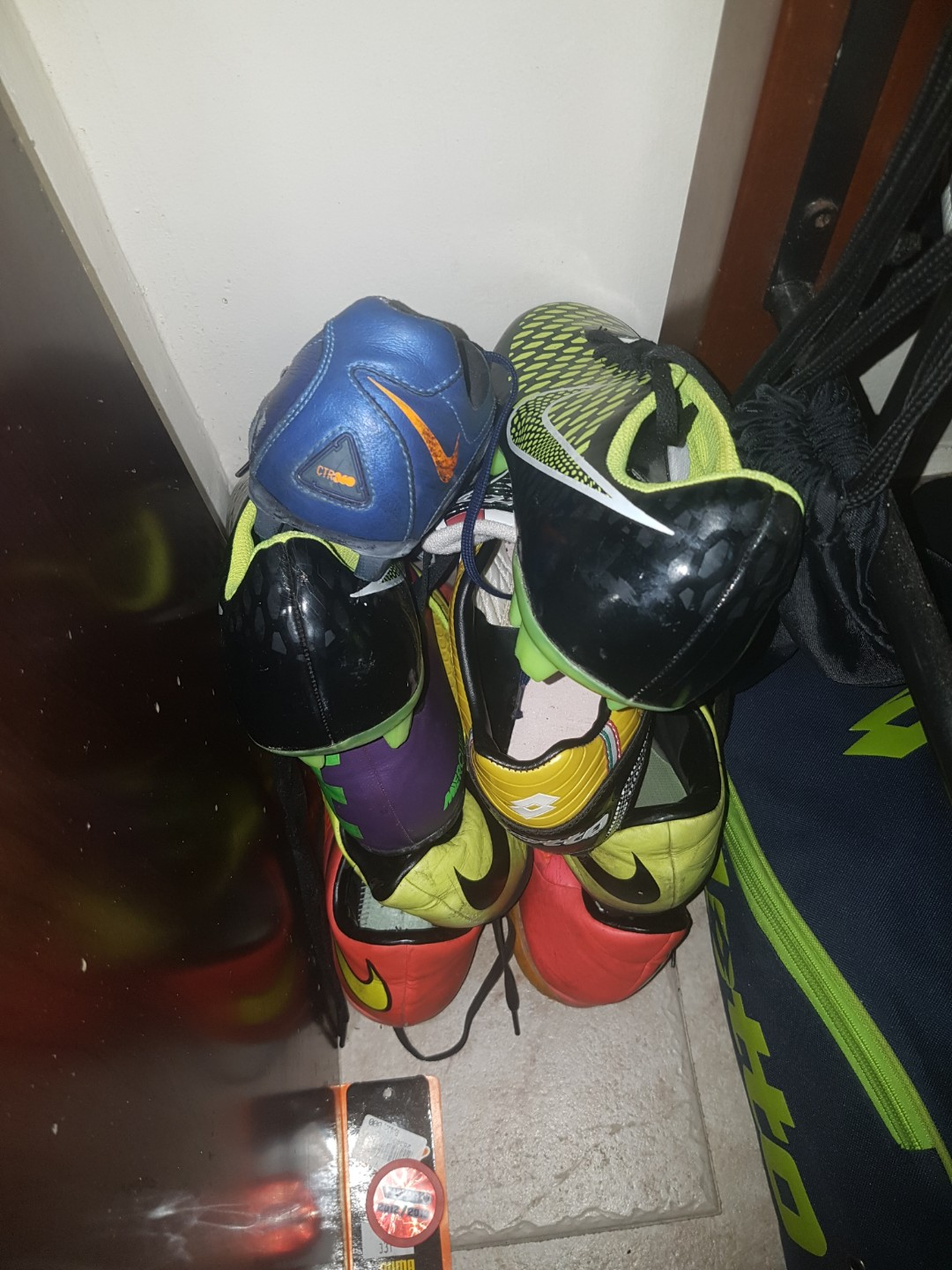 32fe51e7e243 NIKE ADIDAS SOCCER BOOTS (All For  50! Nego Allowed)