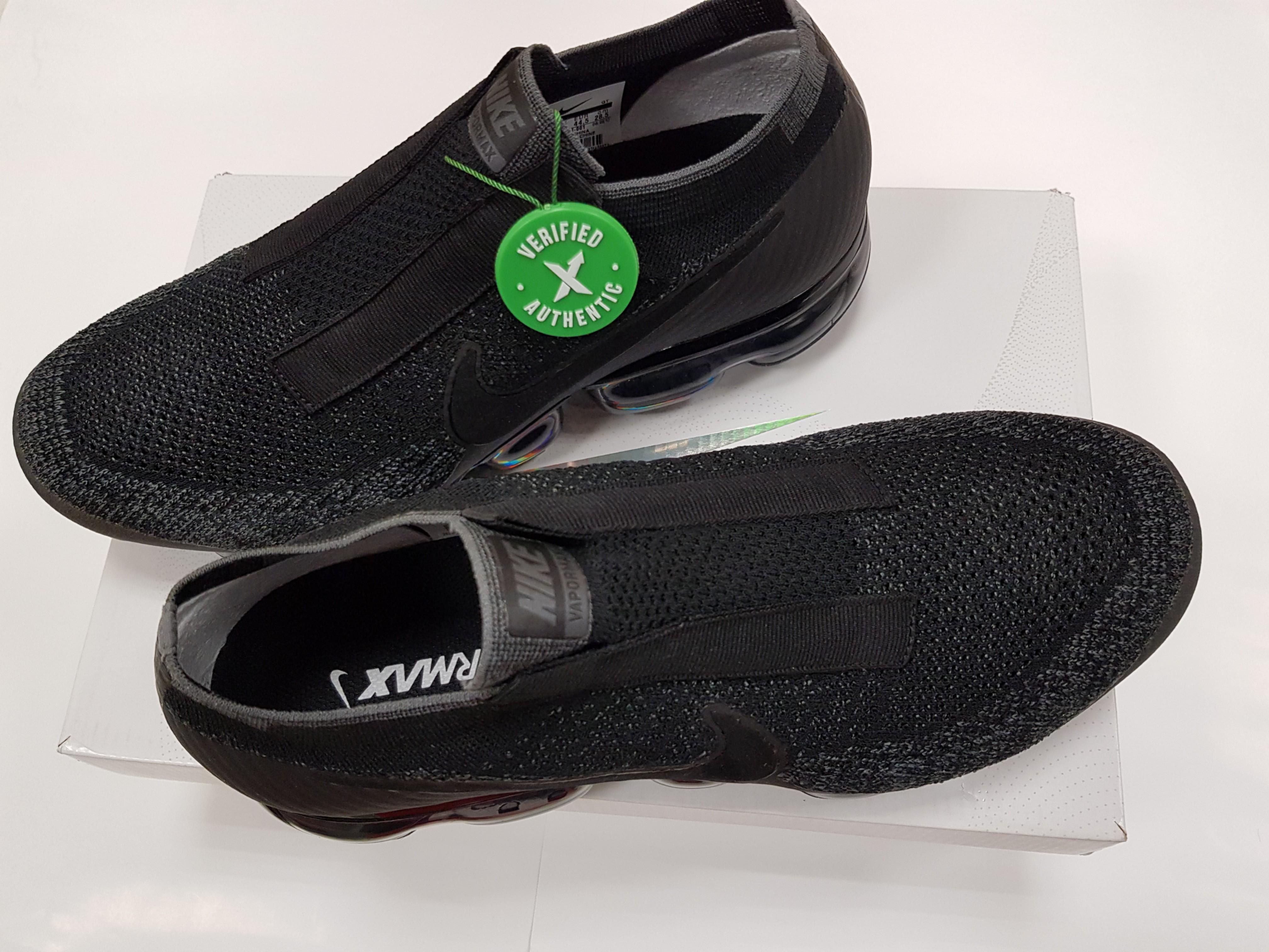 wholesale dealer 24b4e 54442 PRICE REDUCED] NIKE AIR VAPORMAX SE LACELESS TRIPLE BLACK ...