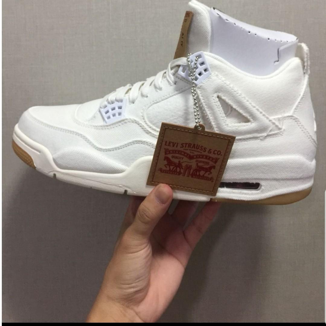 2623ce61dd2935 Nike Jordan x Levi s Air Jordan 4
