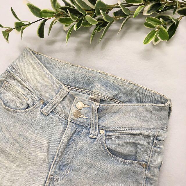 Now high waist jeans - light blue