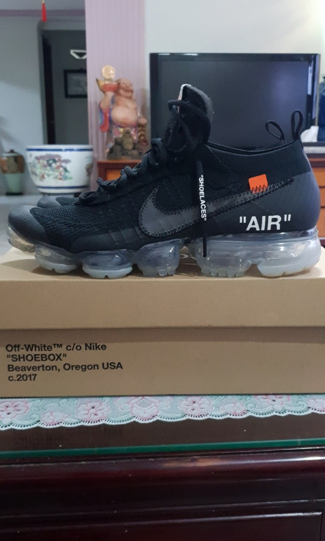 09f63f8215 Off White Vapormax 2018 US10, Men's Fashion, Footwear, Sneakers on ...