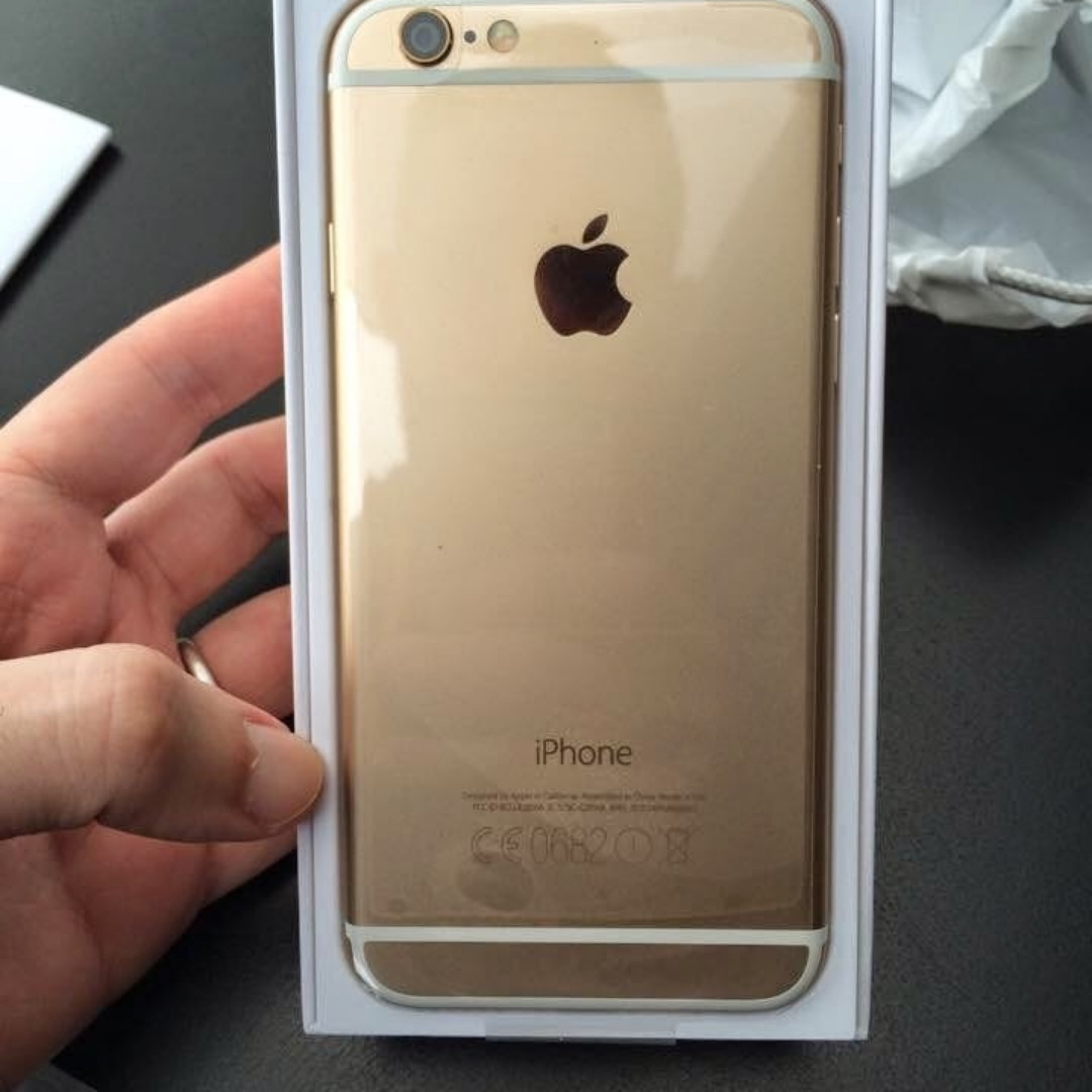 Original iPhone 6 64 GB GOLD Refurbished Garansi 1 Tahun 997284eff6