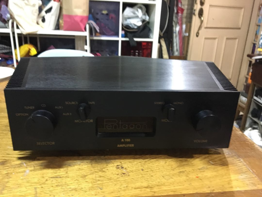 Pentagon A100 stereo amplifier - Made in Germany Pentagon_a100_stereo_amplifier__germany_1533376793_c3c76bbf