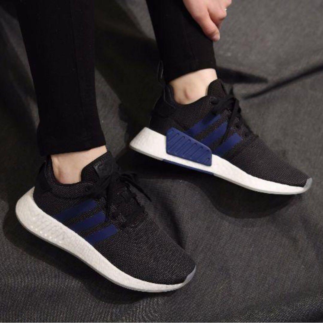 PO) Adidas Womens NMD R2 Indigo Black