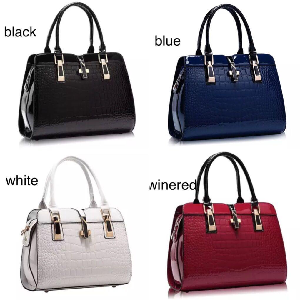 PO) Women Leather Handbags PU 1761de16d40c5