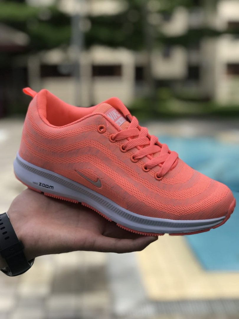 f65d10a45d Promo ! Nike Airmax Zoom 97 Peach, Women's Fashion, Shoes on Carousell
