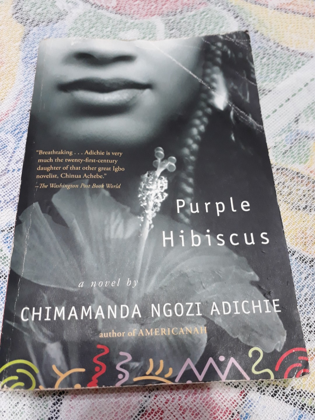 Purple Hibiscus Books Stationery Non Fiction On Carousell