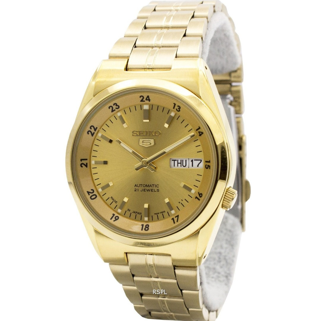 e226fbc311e Seiko 5 Gold Automatic 21 Jewels SNK574J1 Mens Watch