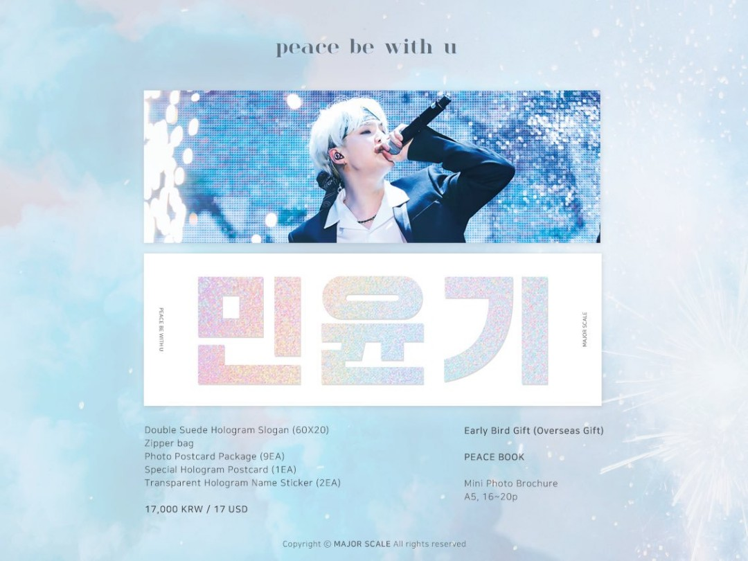 SHARE] Yoongi Major Scale Fansite Slogan, Entertainment, K