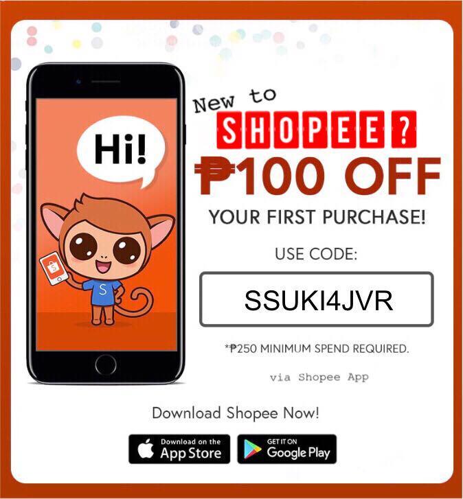Shopee Promo Code on Carousell