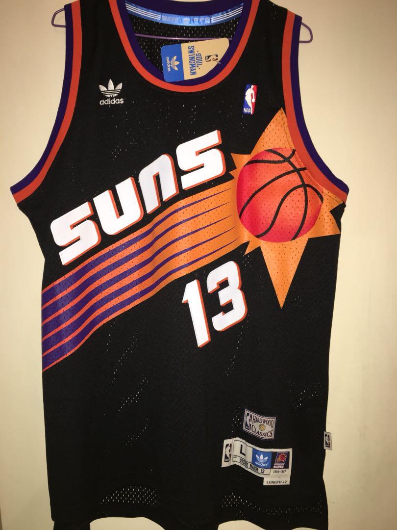 promo code 6911e 5bf52 Steve Nash Adidas Retro Phoenix Suns Rookie Year Jersey